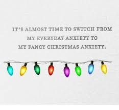 christmas anxiety
