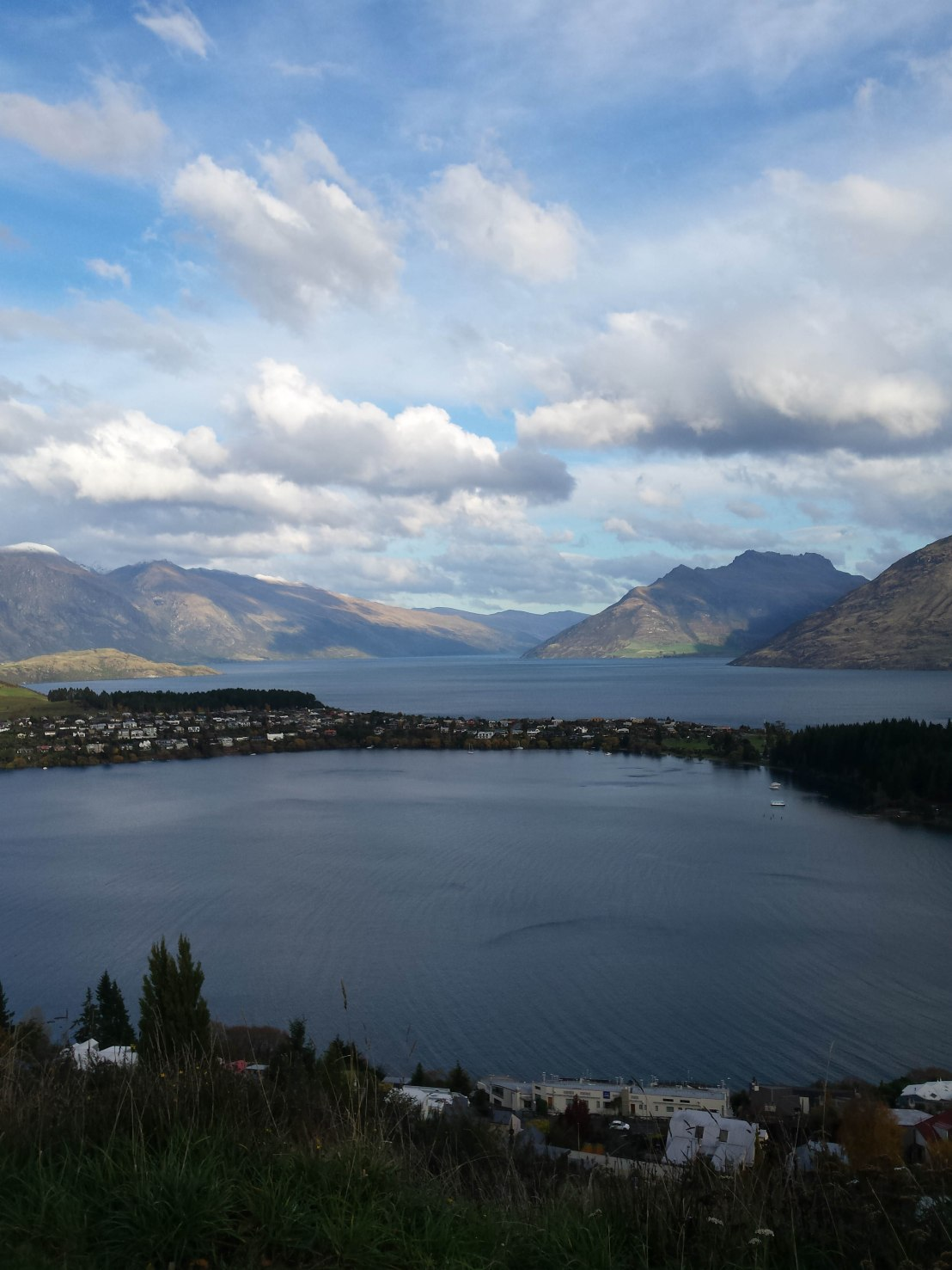 Remarkables, Lake Kawarau, and Queenstown, NZ