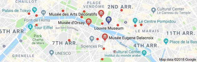 Louve map